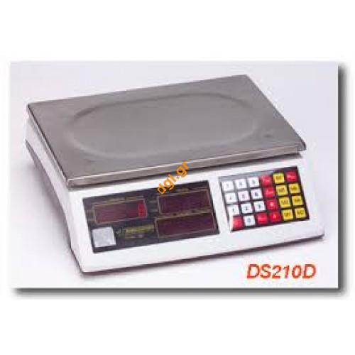 Ζυγαριές επαγγελματικές DELMAC DS210D DS210DX