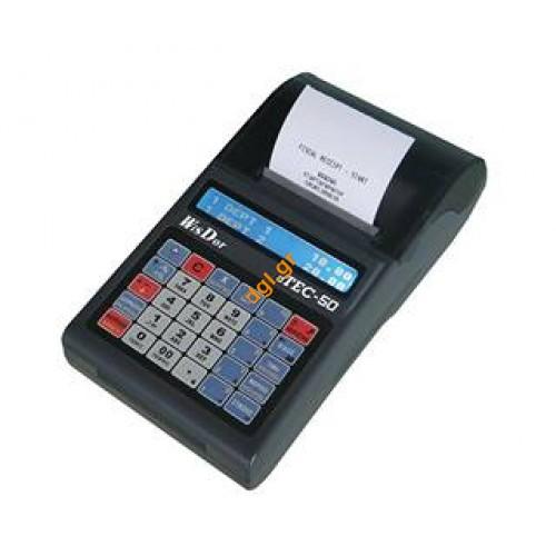 Φθηνή ταμειακή μηχανή dtec 50 wisdor