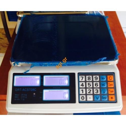 Μικρή ζυγαριά βάρους 30kg/1gr  GRT-ACS 708C