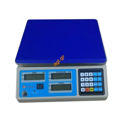 Ηλεκτρονική ζυγαριά με έγκριση admate lpn
