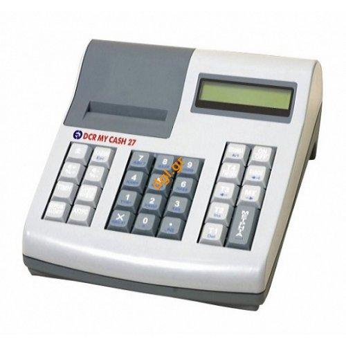 φθηνές ταμειακές μηχανές DCR MY CASH 27 μπαταρίας